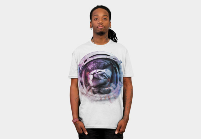 Meowt of this world T-Shirt - Design By Humans
