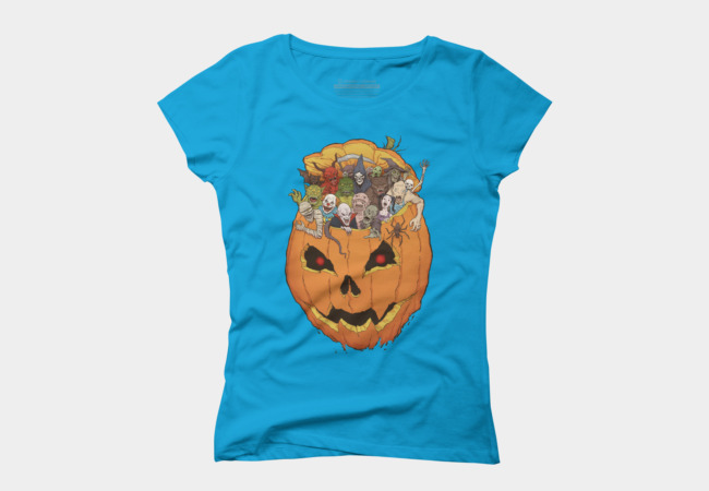 Halloween Monsters Women's T-Shirt