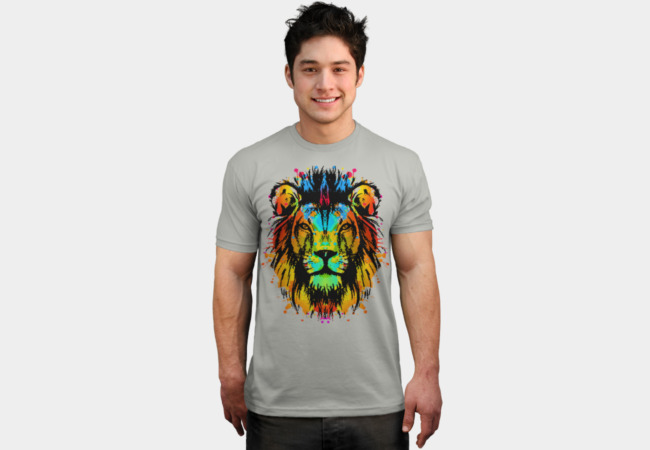 Technicolor King T-Shirt - Design By Humans