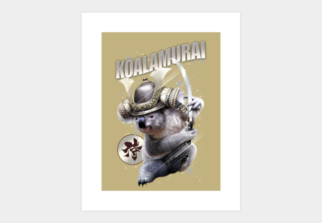THE RISE OF KOALAMURAI Art Print - Design By Humans