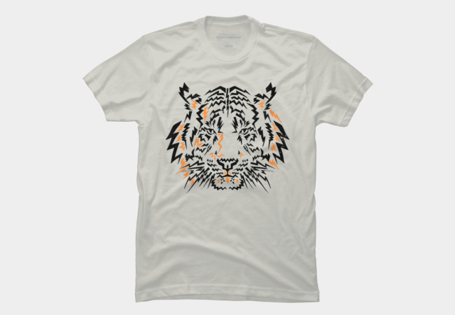 Flash Tiger Men's T-Shirt