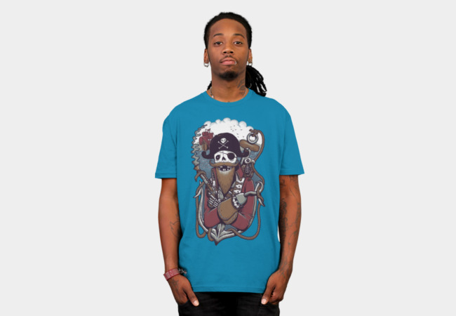 Mr Pirate T-Shirt - Design By Humans