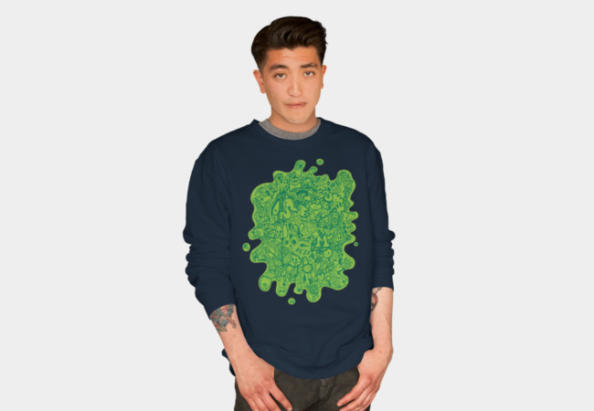 Slime Time Sweatshirt - Design By Humans
