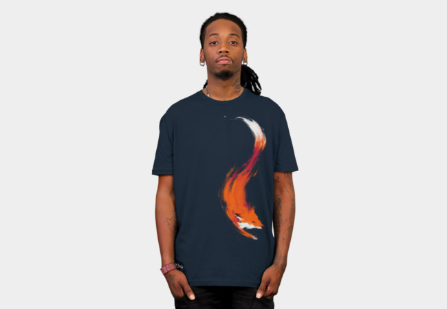 The Quick Orange-Red Fox T-Shirt - Design By Humans