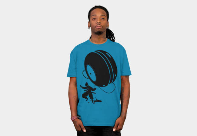 Ninja YO-YO T-Shirt - Design By Humans