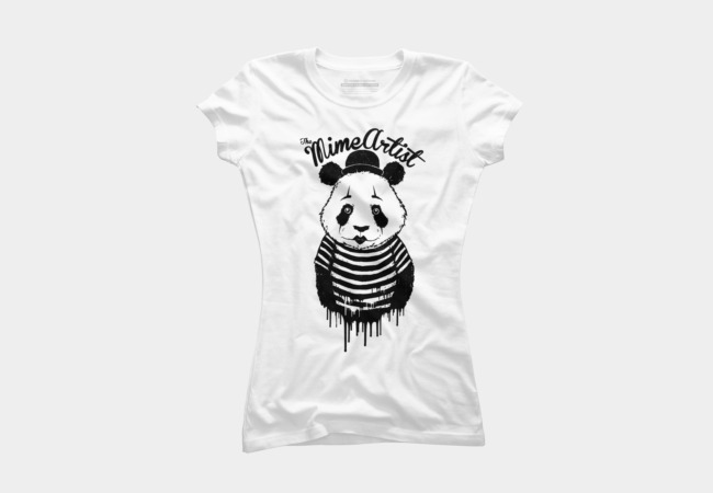 The Mime Artist Women's T-Shirt
