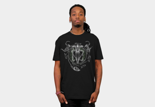 Mortus Centrum Solum Vita T-Shirt - Design By Humans