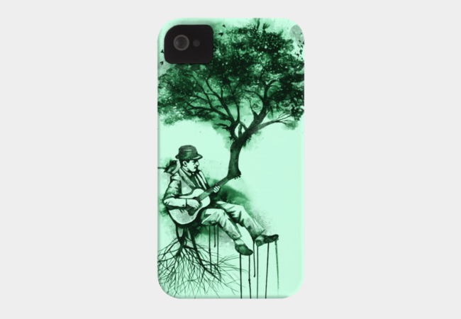 In The Rhythm of Nature Phone Case - Design By Humans