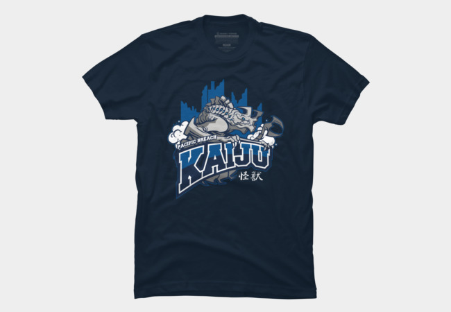 Pacific Breach Kaiju Men's T-Shirt