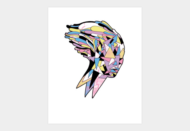 She Art Print - Design By Humans