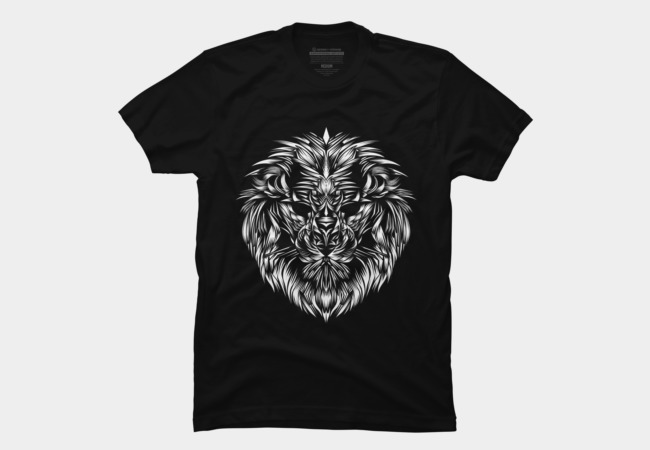 Lion Head 1 Men's T-Shirt
