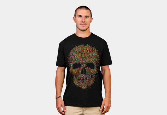 Acid Skull T-Shirt - Design By Humans