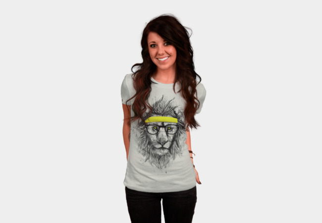 Hipster lion T-Shirt - Design By Humans