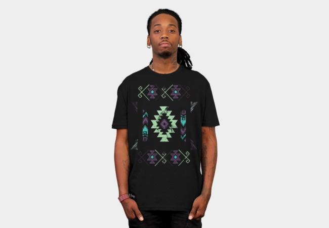 Aztec Modern 2 T-Shirt - Design By Humans