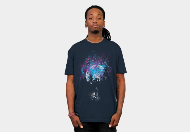 Farewell Moon T-Shirt - Design By Humans