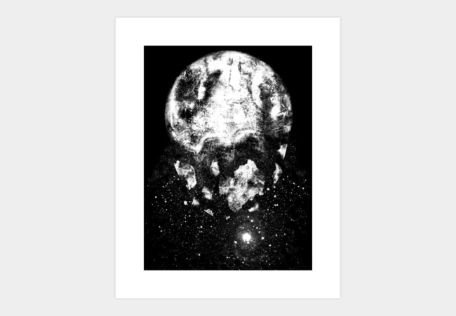 The Moon is Down Art Print - Design By Humans