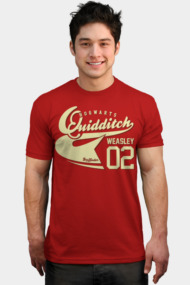 Quidditch Weasley Athletic Tee
