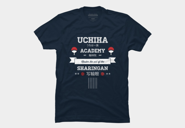 Uchiha Academy Men's T-Shirt