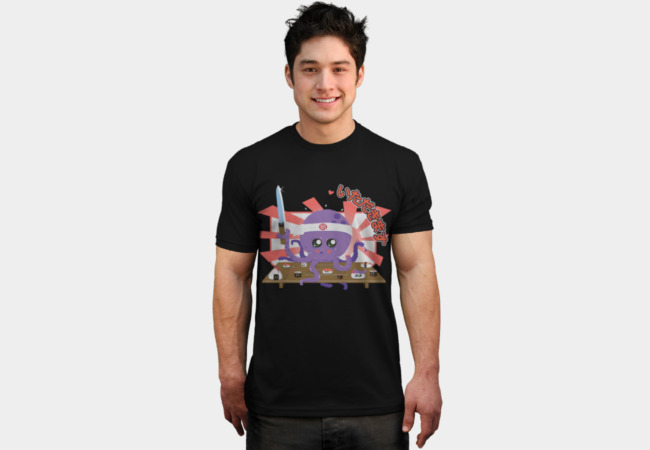 Octosushi T-Shirt - Design By Humans