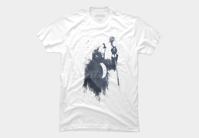 Wolf song Men's T-Shirt