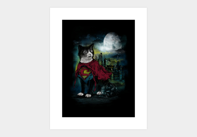 Hero of the Night Art Print - Design By Humans