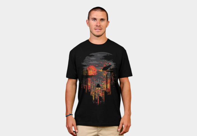 Evacuate Earth T-Shirt - Design By Humans