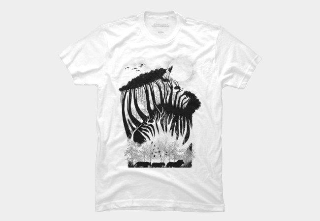 illusion of the wild Men's T-Shirt