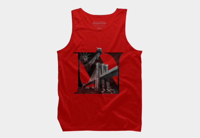 New York Men's Tank Top