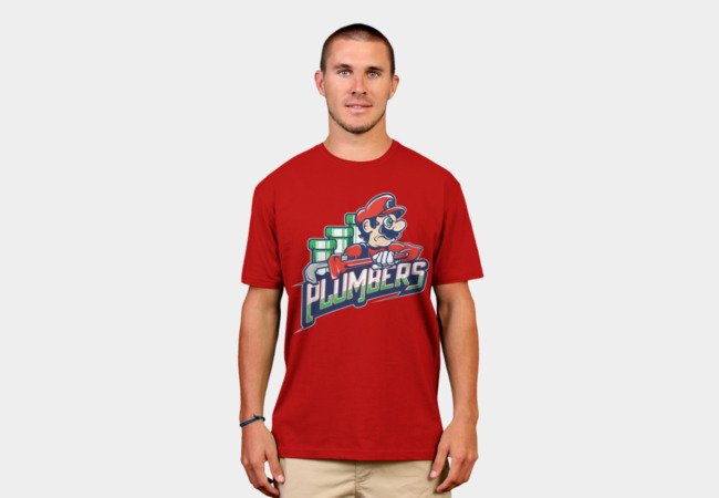 Plumbers T-Shirt - Design By Humans