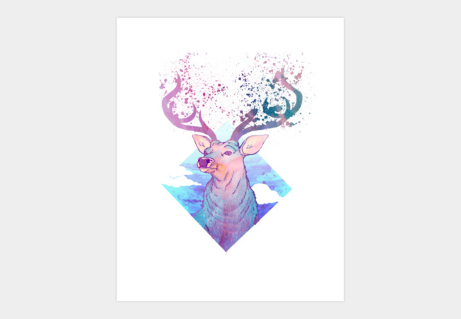 Cervidae Art Print - Design By Humans