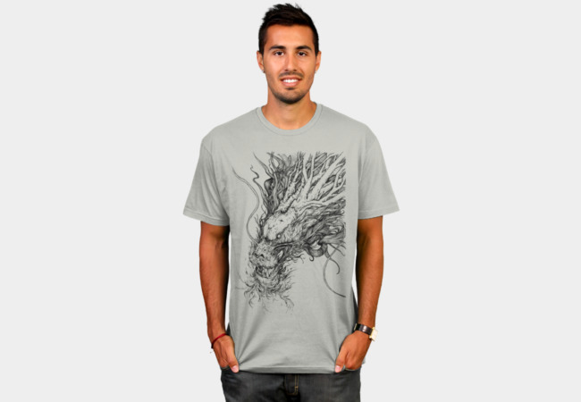 Tree Dragon T-Shirt - Design By Humans