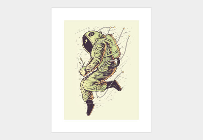 Green Mission Art Print - Design By Humans
