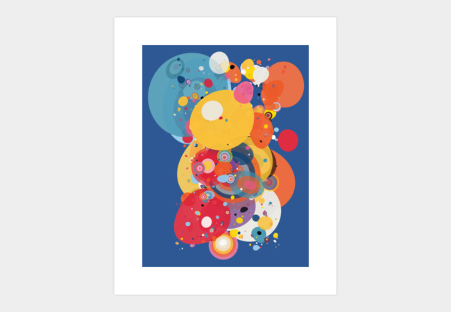 Globular One Art Print - Design By Humans
