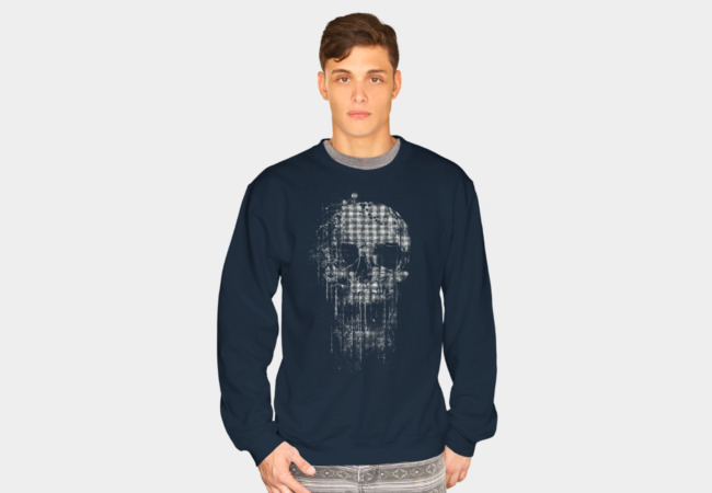 Cool Skull II Sweatshirt - Design By Humans