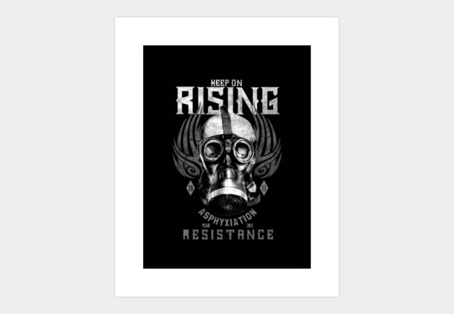 KEEP ON RISING Art Print - Design By Humans