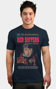 """Red Sisters"" Book Cover"