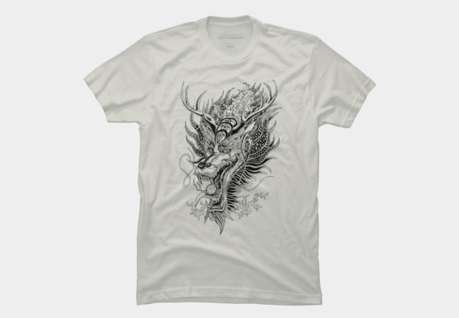 East Love Attack - Dragon love attack Men's T-Shirt