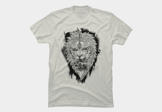 East Love Attack - Lion love attack Men's T-Shirt