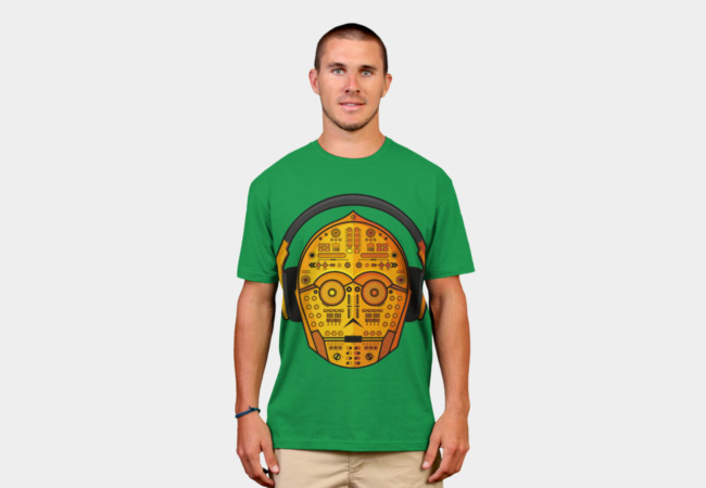 DJ-3PO T-Shirt - Design By Humans