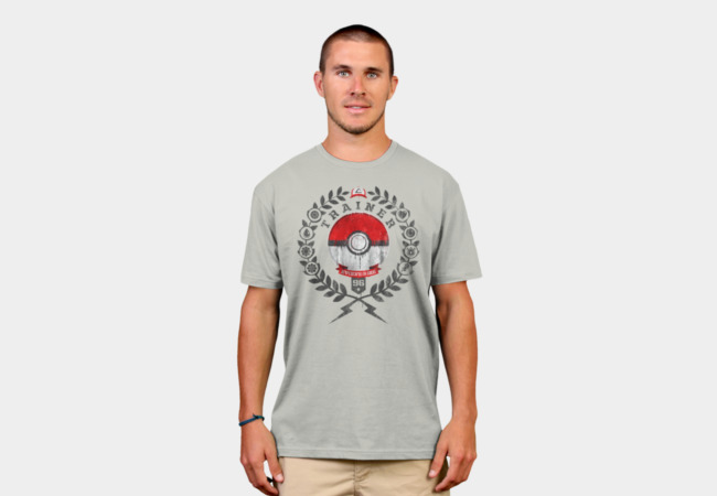 PokéTrainer T-Shirt - Design By Humans