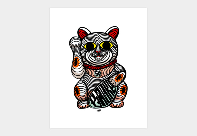 MEOW Art Print - Design By Humans