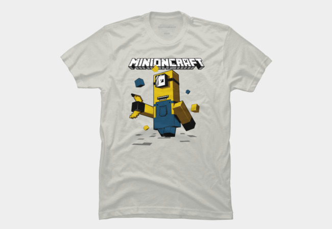 Minioncraft Men's T-Shirt