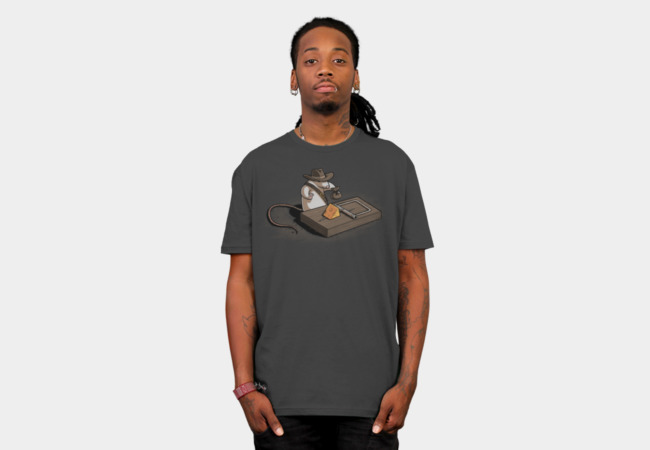 Indiana mouse T-Shirt - Design By Humans