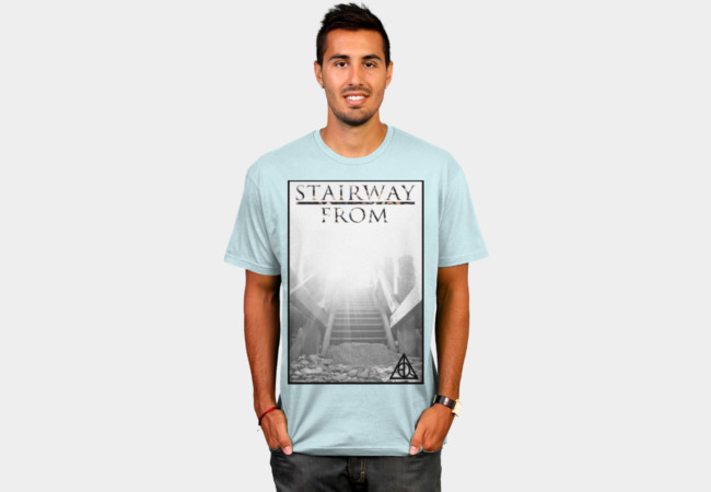 Stairway From Heaven T-Shirt - Design By Humans