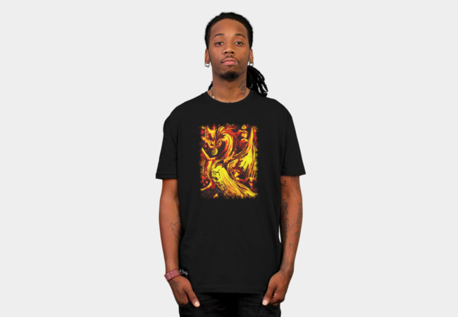 Fire Spirit Tee T-Shirt - Design By Humans