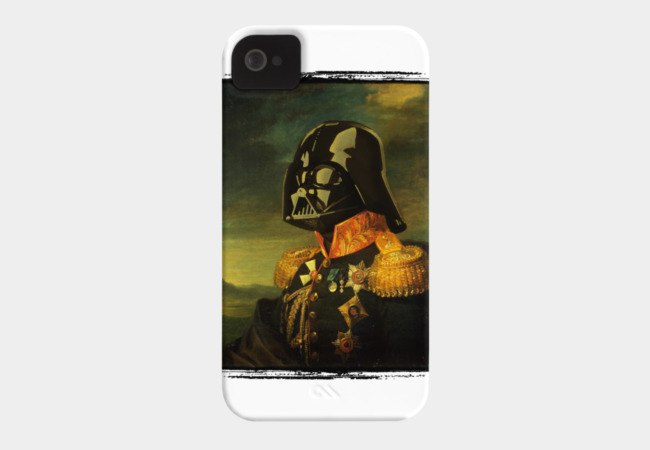 Portrait of Lord Vader Phone Case - Design By Humans