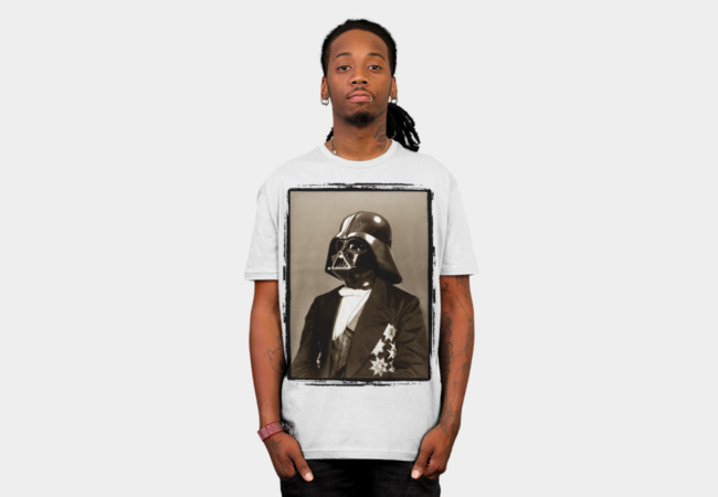Portrait of Sir Vader T-Shirt - Design By Humans