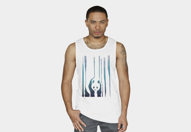 Panda's Way Tank Top - Design By Humans