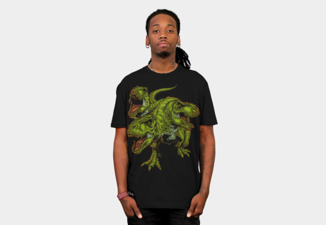 Cerbesaurus V2.0 T-Shirt - Design By Humans