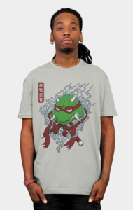 Red Oni Ninja Turtle